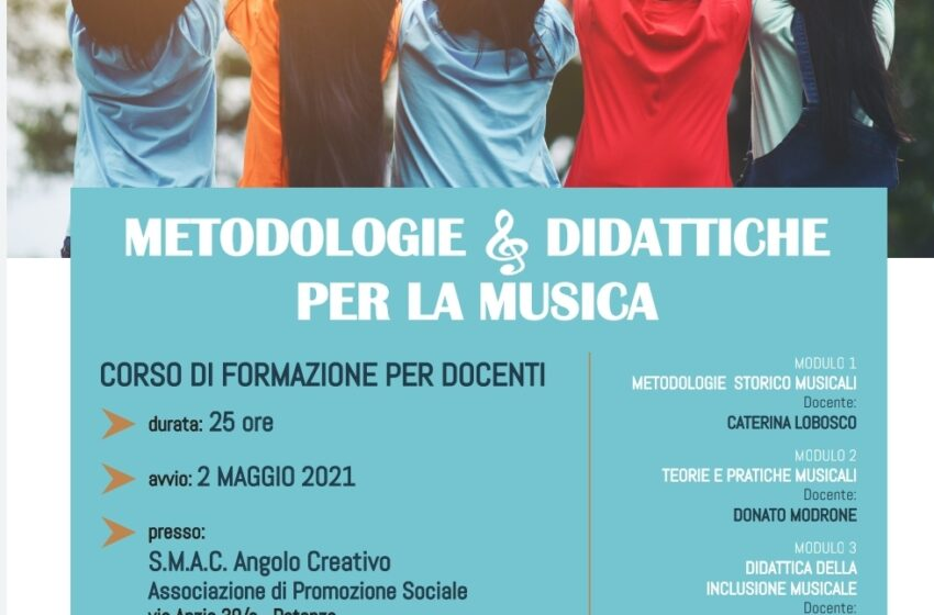 """""""METODOLOGIE DIDATTICHE PER LA MUSICA"""""""