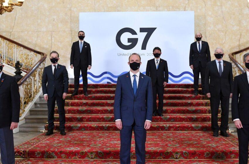 IL G7 E LA NUOVA GUERRA FREDDA